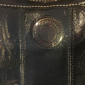 Coach Bags - ♥️Final cost $24♥️COACH Blue Leather Kisslock Bag